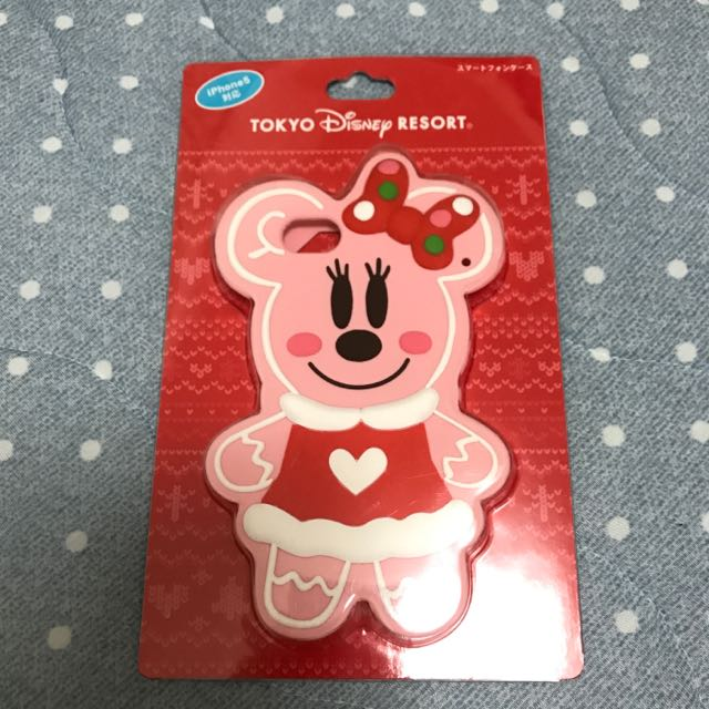 IPhone 5s日本迪士尼米妮薑餅人手機殼