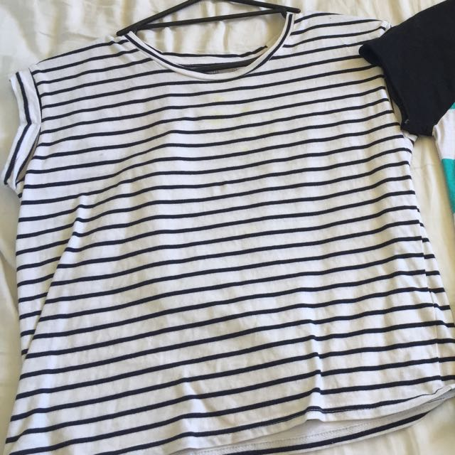 Jay Jays Striped Crop Top