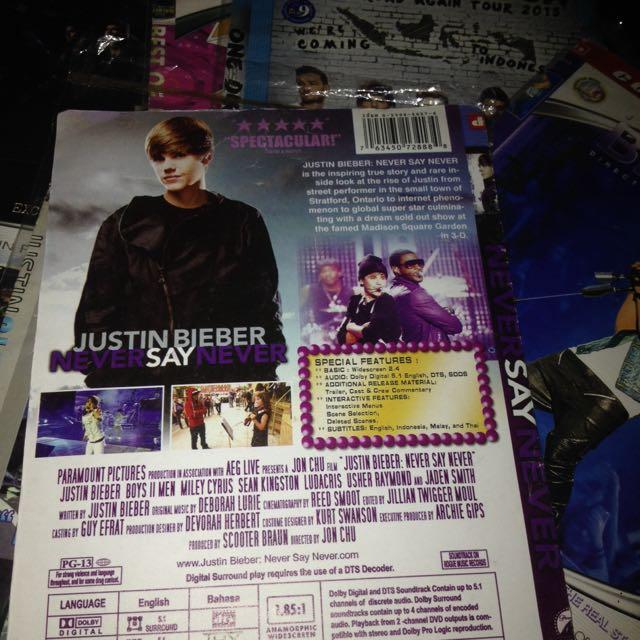 Justin Bieber Never Say Never Movie