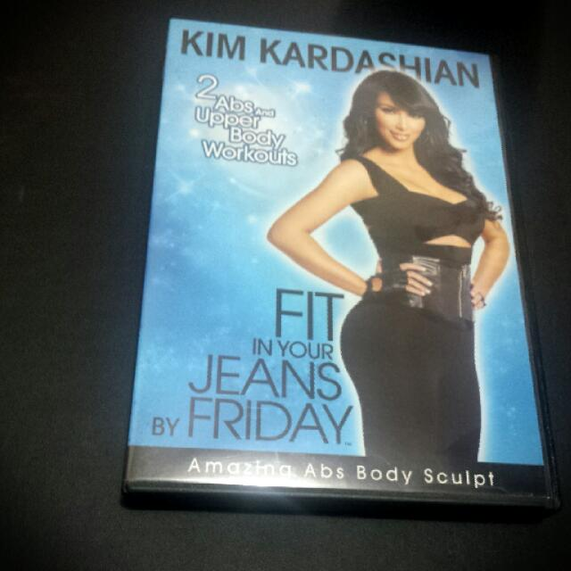 Kim Kardashian Fit In Your Jeans DVD