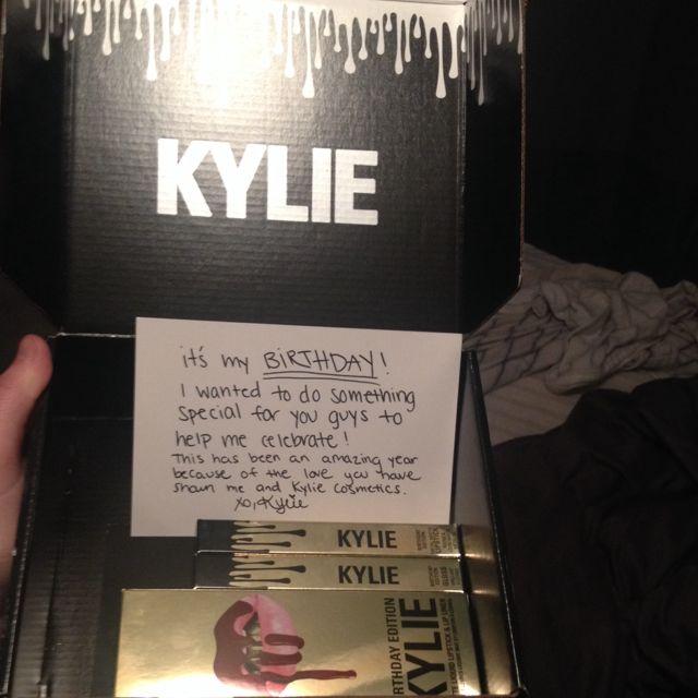 kylie Jenner Birthday Edition Lipsticks