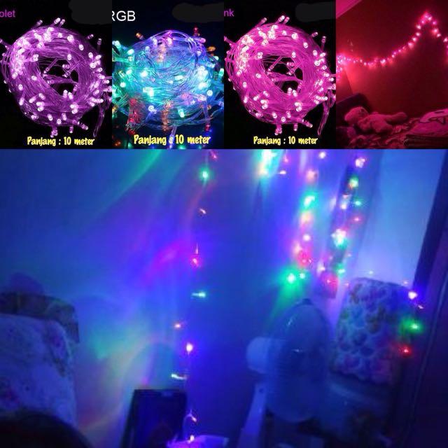 Lampu Dumblr /led Light