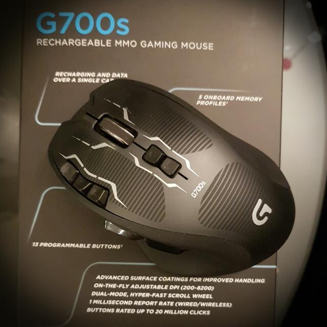 e0a31e98b75 Logitech G700s Rechargeable Gaming Mouse, Electronics, Computer ...