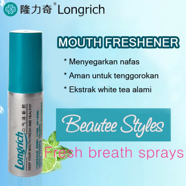 LONGRICH MOUTH FRESHENER