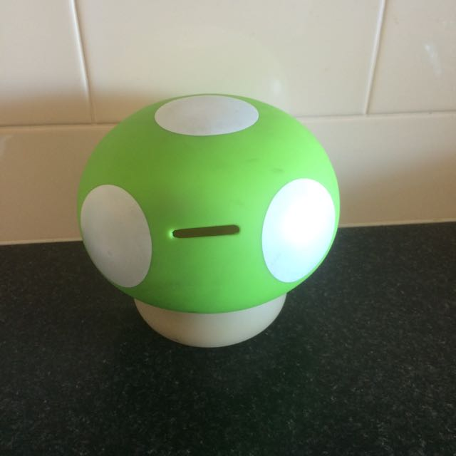 Mario Mushroom (Green) Money Box