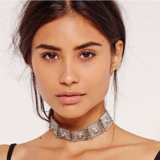 Missguided Metal Choker