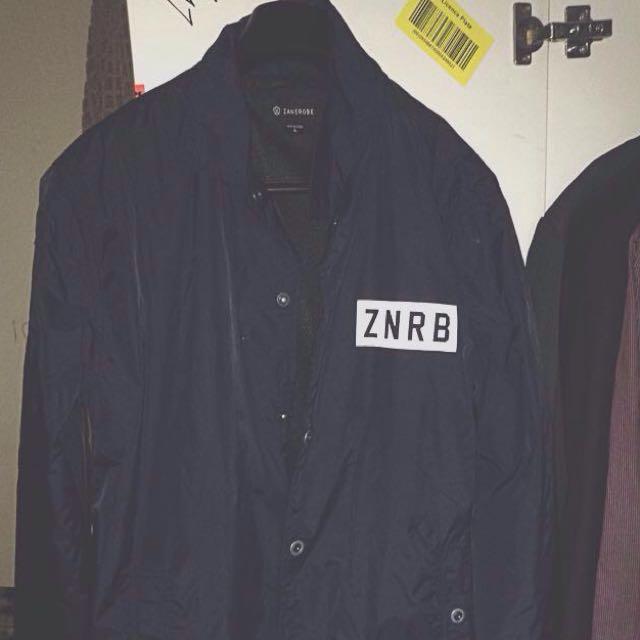 Navy Zanerobe Jacket