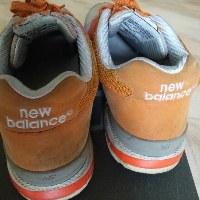 New balance 男慢跑鞋