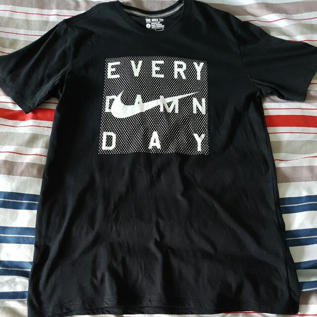 nike shirt every damn day