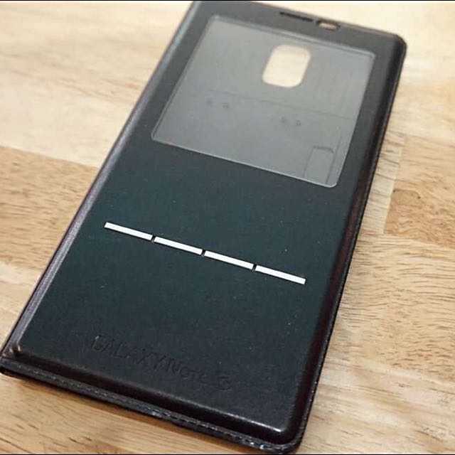 Note 3 Case With Metal Strip Touch To Answer
