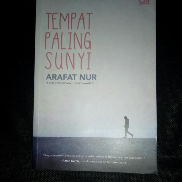 Novel Tempat Paling Sunyi (Preloved)