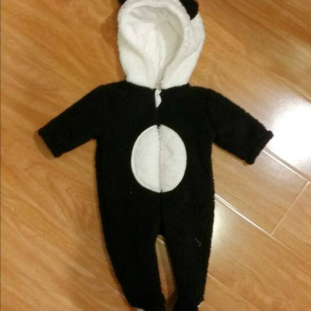 Panda Winter Suit Size 000