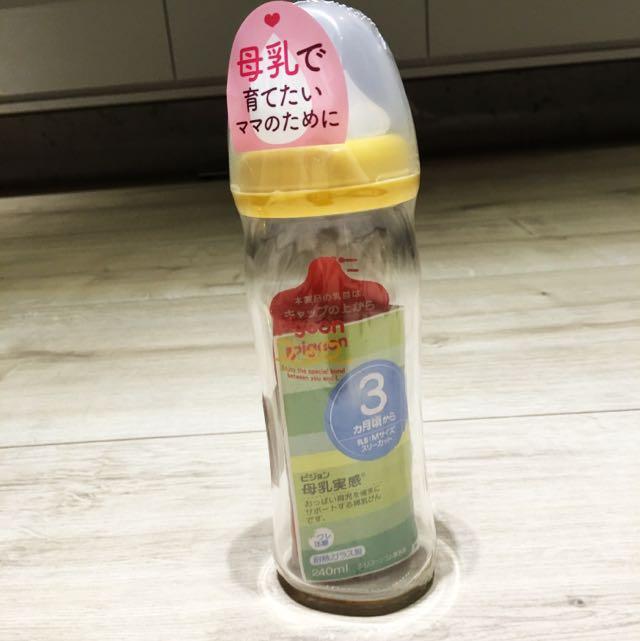 Pigeon 貝親 寬口 奶瓶 母乳實感