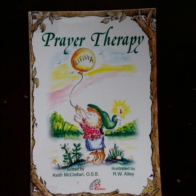 Prayer Therapy Pocket Booklet