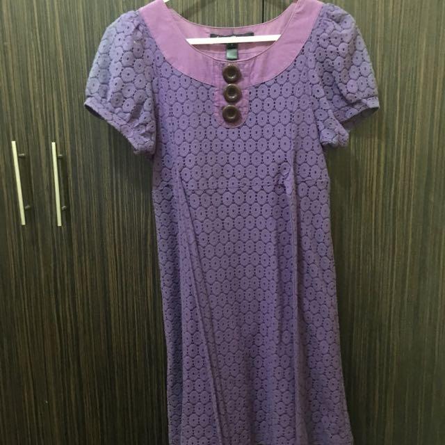 Purple Kamiseta Dress