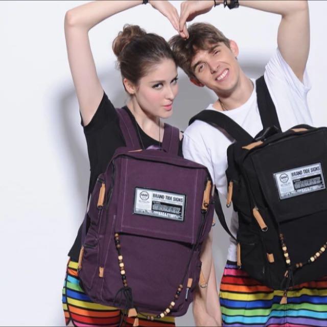 Purple MCYS&JPN Backpack