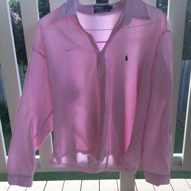 Ralph Lauren Pink Blouse