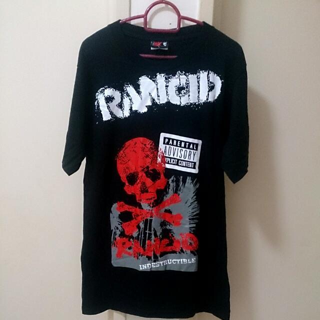 914487b33 RANCID Punk Rock Band t-Shirt, Men's Fashion, Clothes, Tops on Carousell