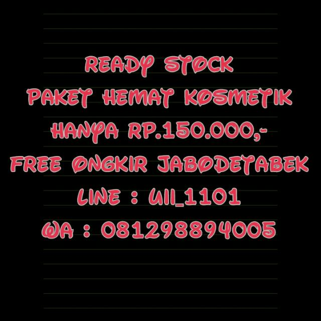 Ready Stock Makeup