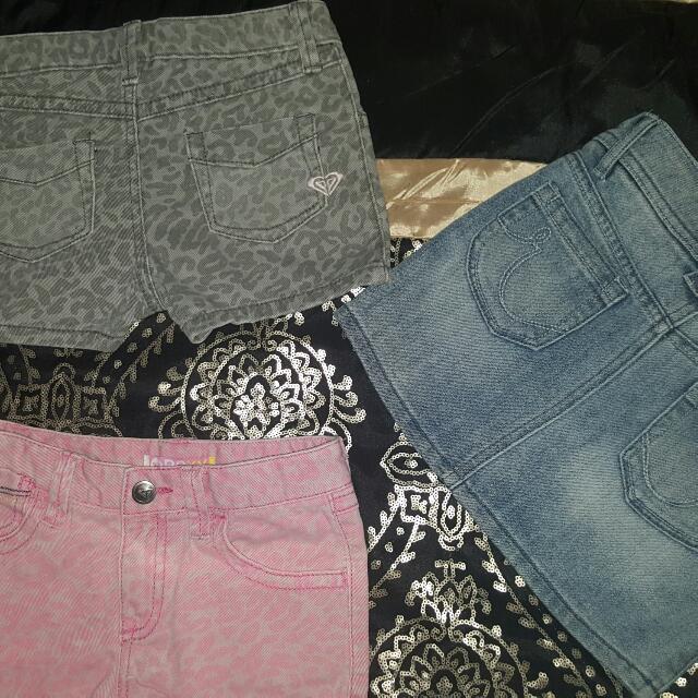 Roxy' denim clothesX3