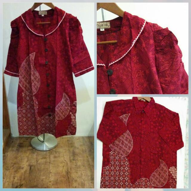 Batik Sarimbit Merah