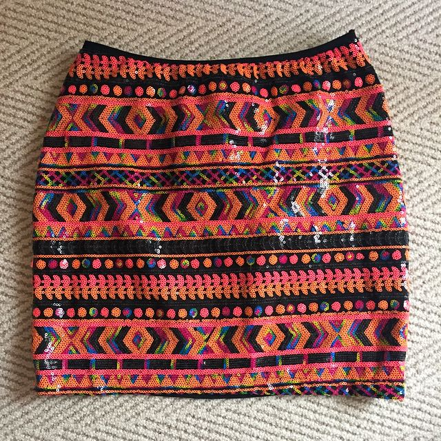 Sequin Skirt Size Small