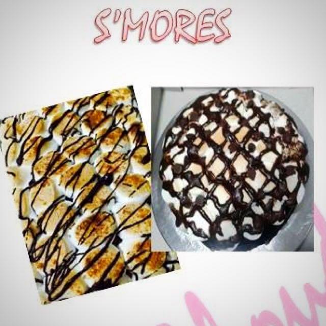 Smores Moist Cake