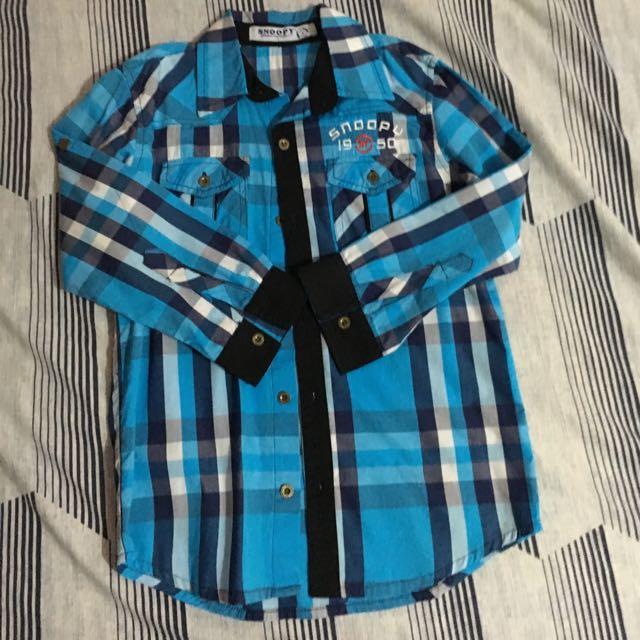Reserve‼️‼️Snoopy Long Sleeve Polo