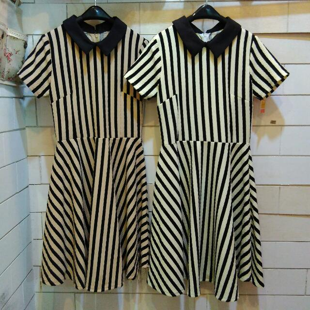 Stripe Dress Bangkok