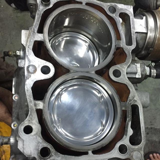 Subaru Ej25 Engine Forged Internal Sleeved Block, Car