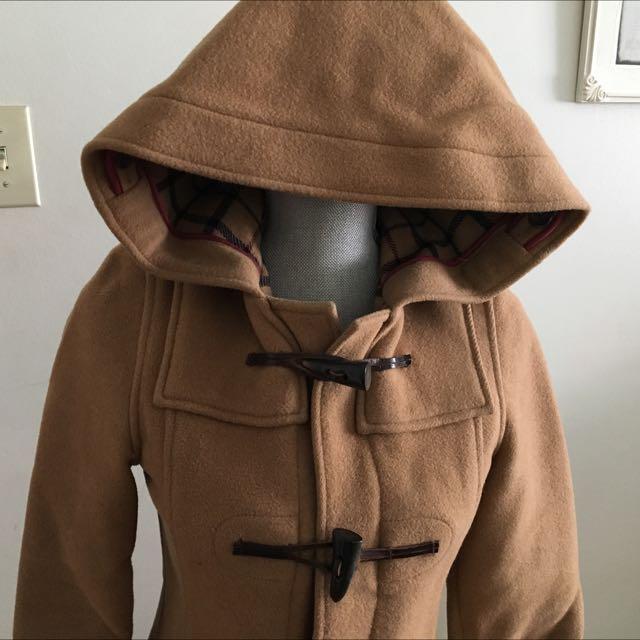 Tan TNA/Aritzia Duffle Coat