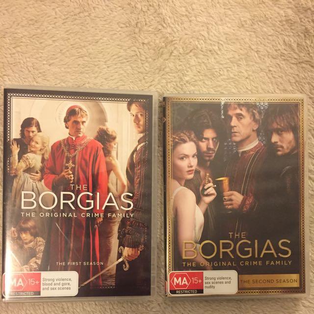 The Borgias Seasons 1-2