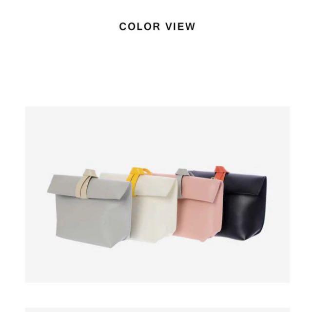 (韓國代購)Tom&Rabbit磁釦手拿側背兩用包
