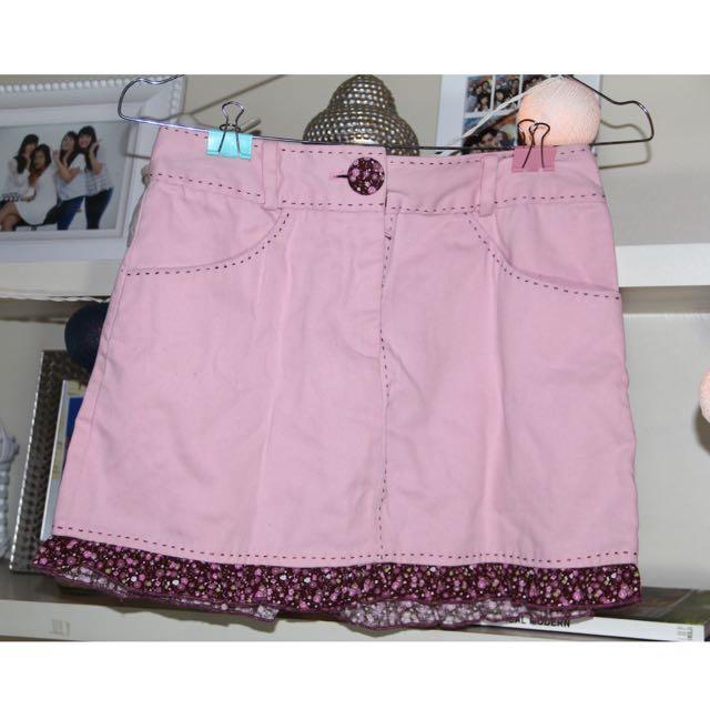 transform pink mini skirt