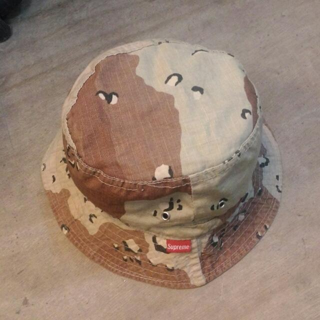 a46b50647ee Vintage Supreme Bucket Hat Chocolate Chip