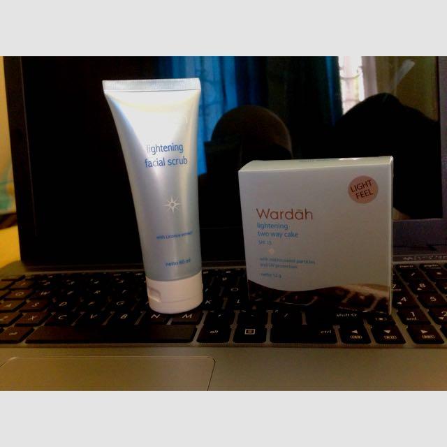 Wardah Facial Scrub&Powder