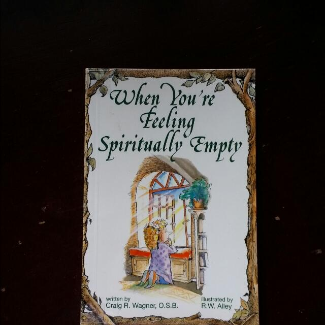When You're Feeling Spiritually Empty Pocket Booklet