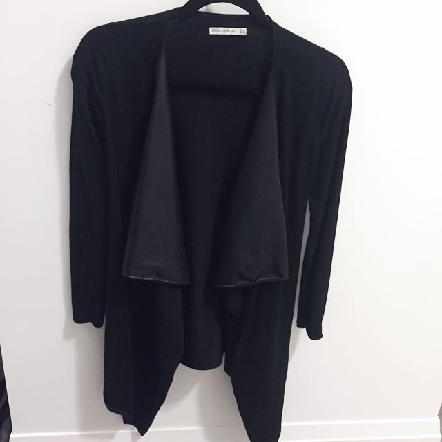 Zara Knit Long Cardigan