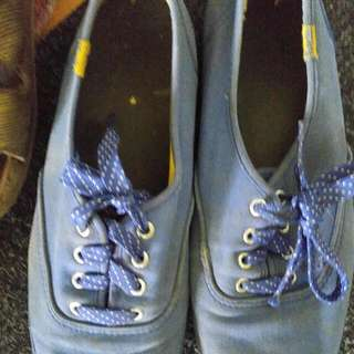 Worn Af Light Blue Keds Pair