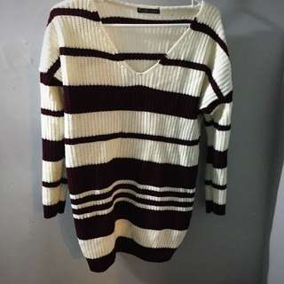 Sweater Dress Large