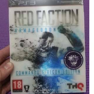 Red Faction Armageddon Commando & Recon Edition PS3 New&Sealed