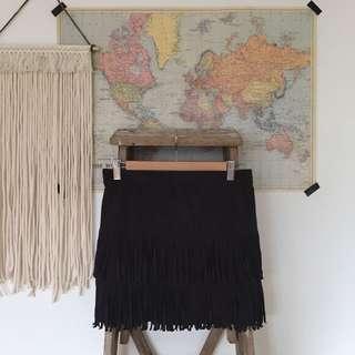 Hollister Fringe Skirt