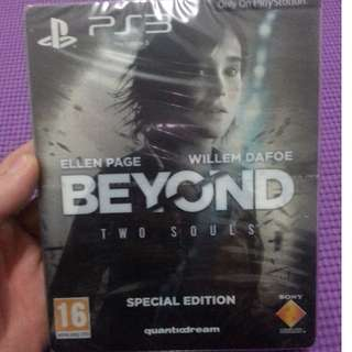 BEYOND Two Souls Special Edition PS3 New&Sealed