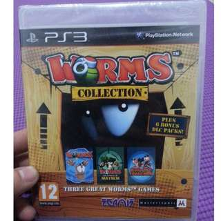 Worms Collection PS3 Plus 6 Bonus DLC Packs New&Sealed