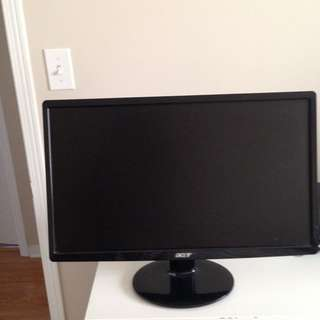 "Acer 21.5"" / 55 Cm Wide LCD Monitor"