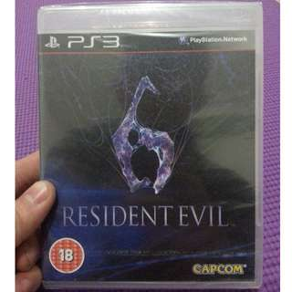 Resident Evil 6 PS3 New&Sealed