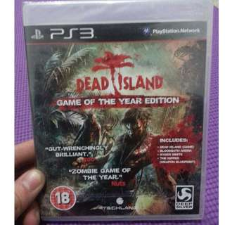 Dead Island Game of the Year Edition PS3 New&Sealed
