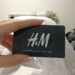 H&M Merchandise Card