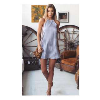 Casual Stripe Dress