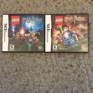 Lego Harry Potter 1-4 And 5-7 DS Games
